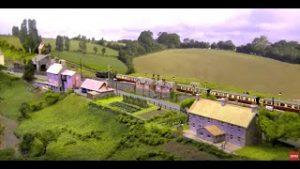 Incredible model railway layout: Wickwar in N Gauge