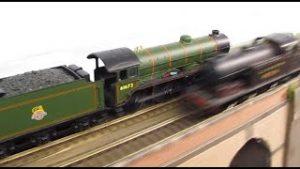 Buckland Junction Loft Model Railway 71. New Background Scenery. Ebay Items. Loco Running Sessions.