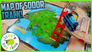 Sodor Map Train and Car City! Fun Toy Trains and Toy Cars