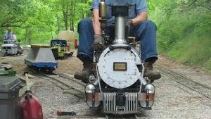 Live Steam Model Train Railroad Locomotive Track 7.5″ gauge 1.5″ Scale Heavenly Hill D&RGW K-27