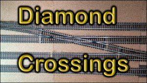 43. Installing a diamond crossing at Chadwick Model Railway.