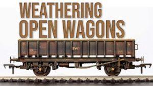 Weathering Model Railway | Bachmann MFA Open Wagons