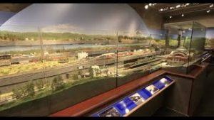 PSMRE Tacoma HO model railroad club layout tour for 4DPNR