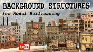 Background buildings for model railroading!