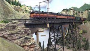 Milwaukee Road Model Railroad Layouts in HO Scale