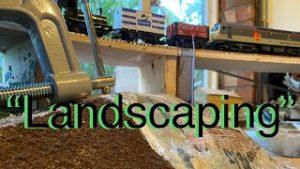 (HD) Landscaping work begins on the new model railway layout – UK Trains -diesels UK model railways