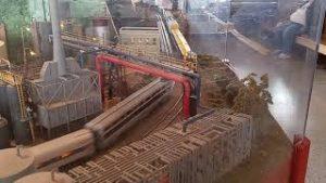 Model trains at Durand, MI train station 2021 railroad day's