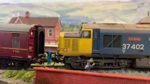 Black 5 44875 fails at Northbridge Crossie British Model Railway