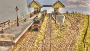 Great Landscape Modelling on British South Hams Model Railway Layout in OO Gauge