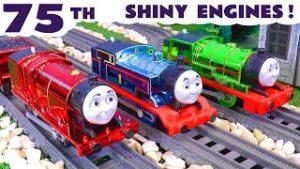 Thomas and Friends Trackmaster 75th Celebration Metallic Shiny Toy Trains Prank Story TT4U
