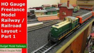 HO Gauge Freelance Model Railway / Railroad Layout – Part 1 -Track Plan & Mehano / Lima Locomotives