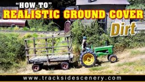 Budget Model Railroad Ground Cover – DIRT!