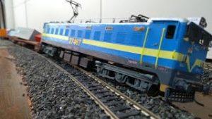 Model Train Derailment