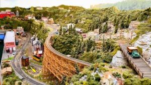 Greatest Private Model Railroad HO Scale Train Layout – The Apple Valley Model Railroad Club Part 2