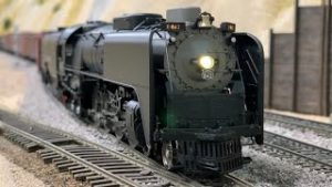 NON STOP HO Scale Model Trains: UP, SP & More   Steam & Diesel   Ep.20