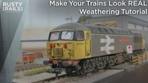 How to Make Model Trains look Real | Weathing Tutorial