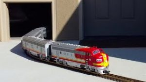 This House Has A Door Just For Model Trains!