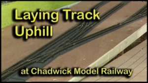 Track Laying on the Station Approach at Chadwick Model Railway | 125.