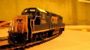CSX and Amtrak Ho Model Trains.