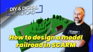 How to design a model railroad using SCARM