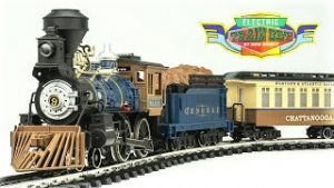 Vintage New Bright G-Scale NO. 376 1997 Electric Model Train Set Unboxing & Review