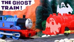 Halloween Spooky Ghost Train Toy Story with Thomas and Friends Trains TT4U