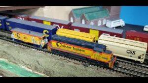 MODEL TRAINS My N Scale Top 10 Locomotives No 10  Atlas EMD SD35 Chessie System