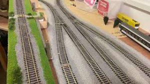Model Railway Ballasting ~  time lapse