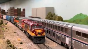 NON STOP HO Scale Model Trains | Modern Run Night | Amtrak, BNSF & More Ep.16