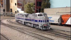NON STOP Amtrak HO Scale Model Trains 2