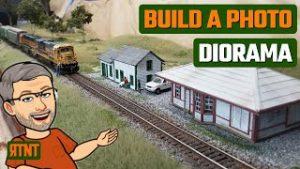 Build a Model Train Diorama