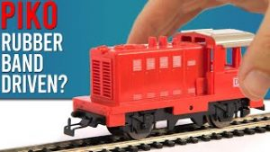 Rubber Band Driven Model Train? | Piko Mytrain Unboxing & Review