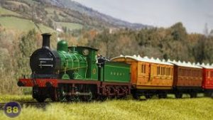 Hattons 'Genesis' 4 & 6 Wheel Coaches – Livery Samples – Model Trains with Real Sound