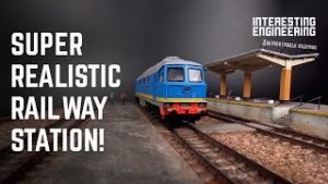 How to build a model train station | Crafty Engineer