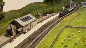 Embankments, Roads, Scenery, & Station Details – New Layout – Part 5 – Yorkshire Dales Model Railway