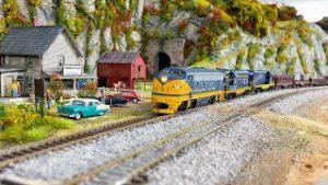Awesome Model Railroad HO Scale Train Layout