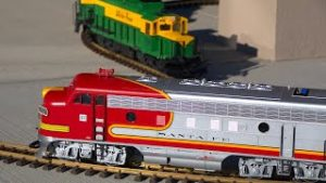 This model train layout is all about the TIMING