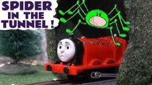 Thomas and Friends Spider In The Tunnel Fun Toy Trains Story for kids and children TT4U