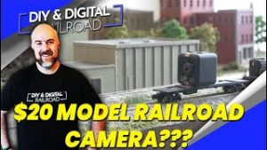 $20 Camera for Model Railroad Cab Rides and Layout Tours???