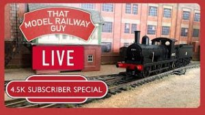 4.5K Subscriber Special! – LIVE Model Railway Running Session!