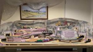 N-scale Model Train Layout Update June 2021
