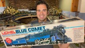 Lionel MPC Blue Comet Train Set