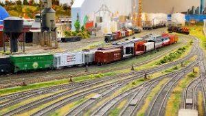 Beautiful Massive HO Scale Model Train Layout at The Treasure Coast Model Railroad Club