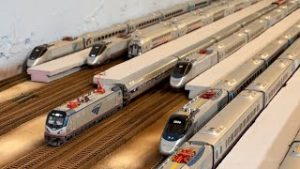 Modern 2020's Ho Scale Amtrak Train Compilation!