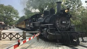 Huckleberry Railroad Steam Train, Ride & Model Trains In Flint Michigan.  Dreamed I Was There!