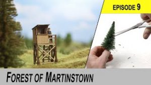 Trees and Buildings – Building a Beginners Model Railroad from ground up.