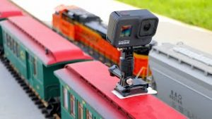 Big Model Trains Look Awesome From A GoPro!