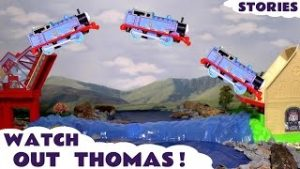 Thomas & Friends Watch Out Thomas The Tank Engine Toy Trains for Kids Stories with Minions TT4U
