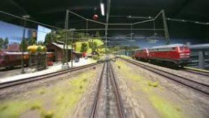 Model Railroad Cab Ride in a Wonderful Miniature World of Märklin Model Trains in HO Scale