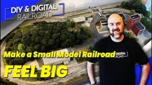 Making a Small Model Railroad Feel Big: Coffee and Trains Episode 24